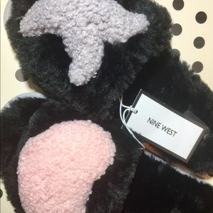Hugs and Kisses Plush Slippers by Nine West